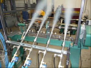 CO2 Composite Spray Cooling Systems
